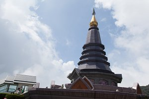 Pagoda on the mountain