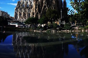 Sagrada Familia Basilica and Expiatory Church of the Holy Family