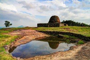 Ruined Stupa on the Yapahuwa Rock