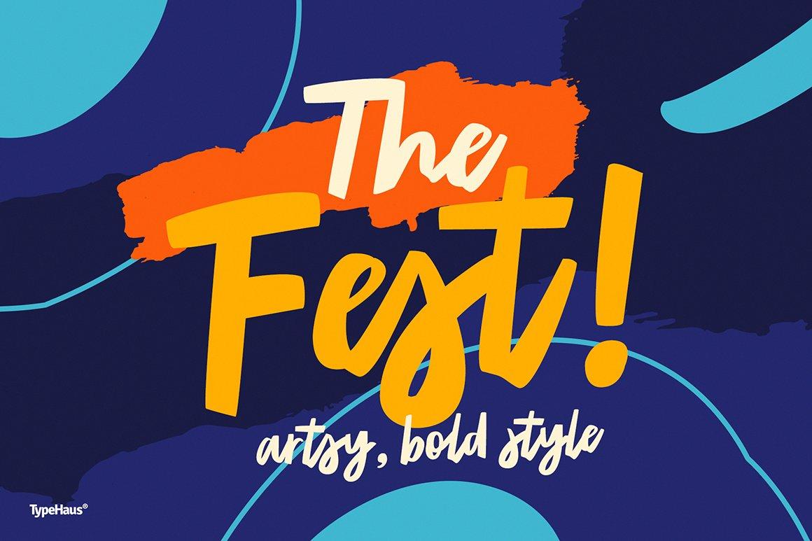 Artsy photos graphics fonts themes templates creative market the fest bold toneelgroepblik Image collections