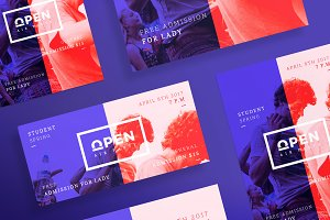 Flyers | Open Party