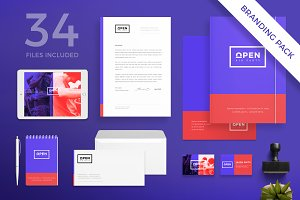 Branding Pack | Open Party