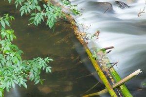 Downstream dam