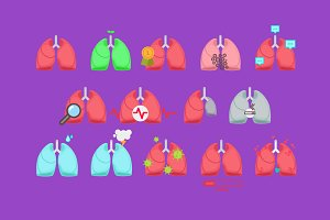 Lungs collection