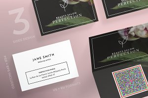 Business Cards | Perfection Salon