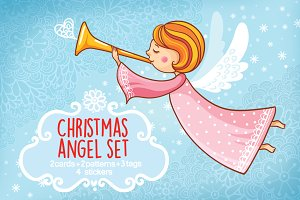 Christmas angel set
