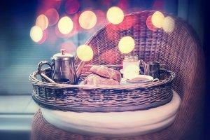 Weekend or holiday breakfast