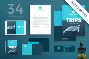 Branding Pack | Travel