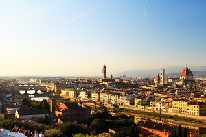 Florence Landscape, Italy