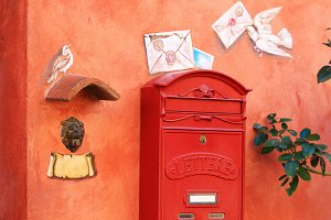 Colorful Letter Box, Italy
