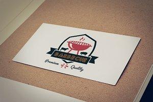 Barbecue Vintage Premium Logo