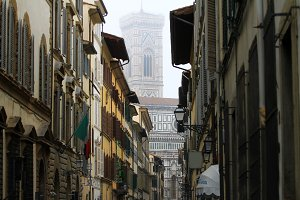 Street In Florence, Italy