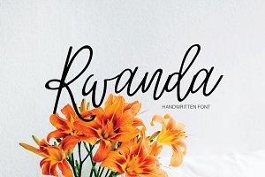 Rwanda | Handwritten Script Font