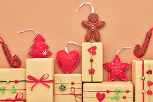 Christmas background decoration