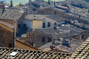 Rooftops In Italy