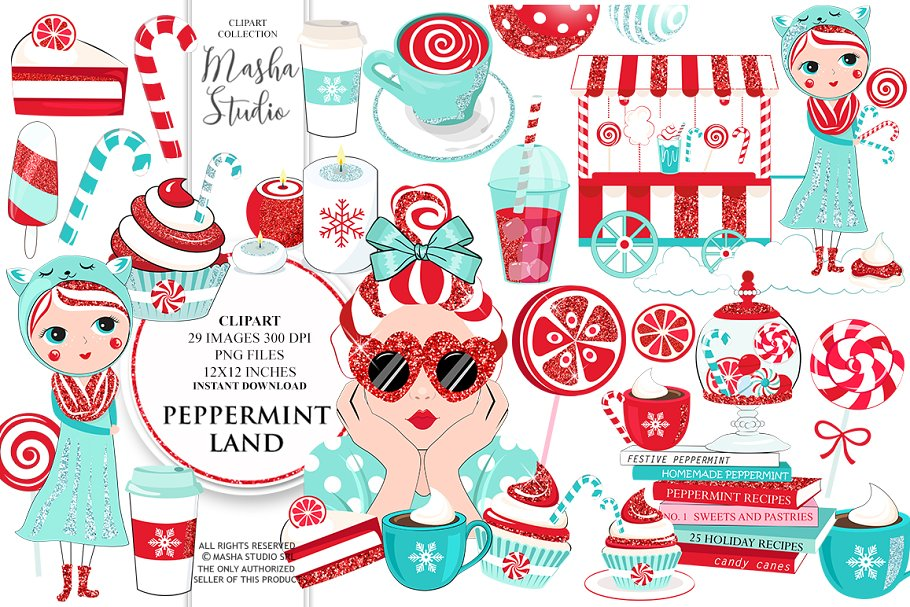 Peppermint Clipart