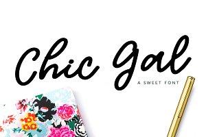 Chic Gal Script Font