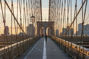 Brooklyn Bridge Morning Walk