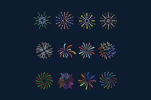 12 Firework Icons