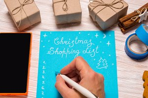 Christmas Shopping list