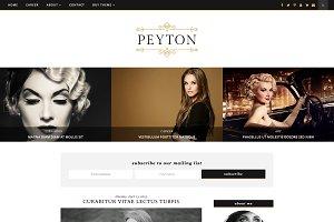 Responsive Blogger Template - Peyton