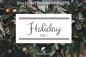 30 Holiday Lightroom Presets Bundle