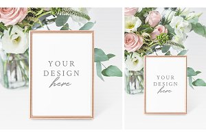 Wedding Table Number Mockup