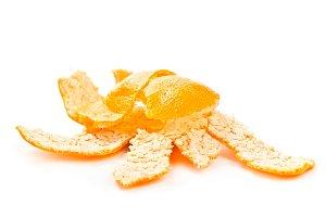 Broken tangerine peel