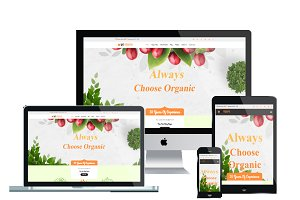 WS FRESH - Agriculture Wordpress