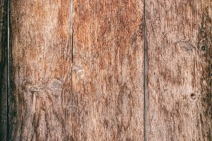 Aged wooden plank