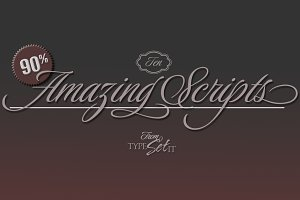 93% OFF— 10  Amazing Scripts
