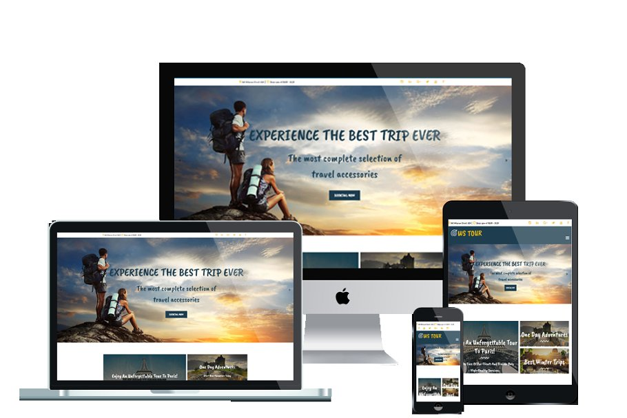 WS Tour - Travel Wordpress Theme