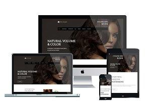 WS Hair - Hair Salon Wordpress