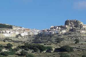 The village of Ares del Maestre