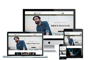WS Men's Fashion -  Shop Wordpress