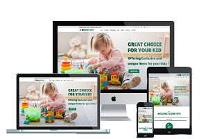 WS Toy - Toys Store Wordpress Theme