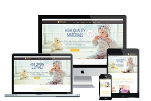 WS Baby - Baby Store WordPress Theme