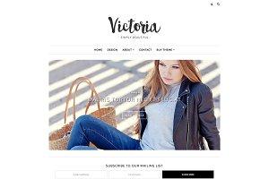 Responsive Blogger Template-Victoria
