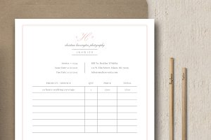 Photography Studio Invoice Template