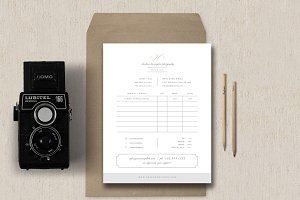 Simple Studio Invoice Template