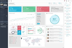Dynamic - Responsive Admin Template