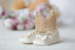 Cuty baby shoes