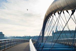 Krakow modern bridge