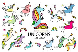 Cute Unicorns collection