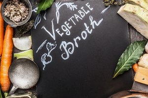 Vegetable broth cooking recipes