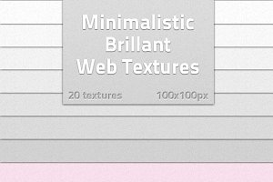 Minimalistic Brilliat Web Textures