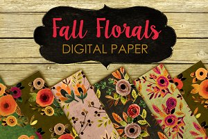 Floral Fall paper