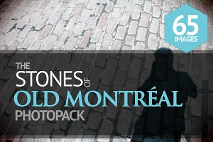The Stones of Old Montréal PhotoPack