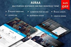AURAA-Multipurpose Responsive Theme