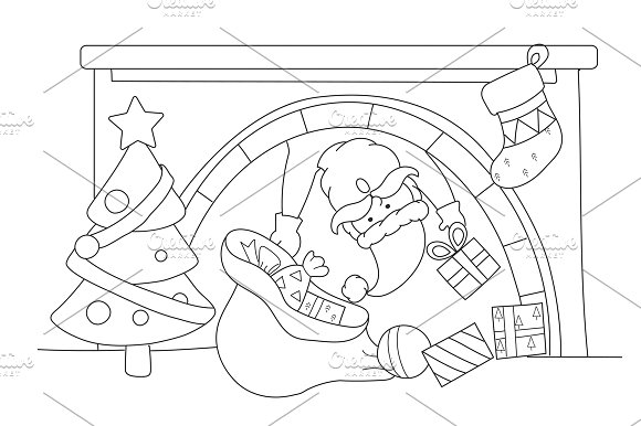 Merry Christmas vector in Illustrations
